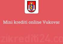 Mini krediti online Vukovar