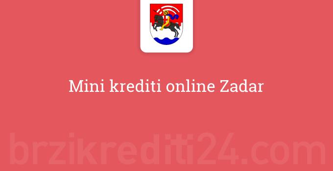 Mini krediti online Zadar