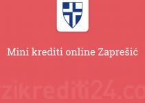 Mini krediti online Zaprešić