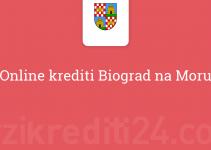 Online krediti Biograd na Moru