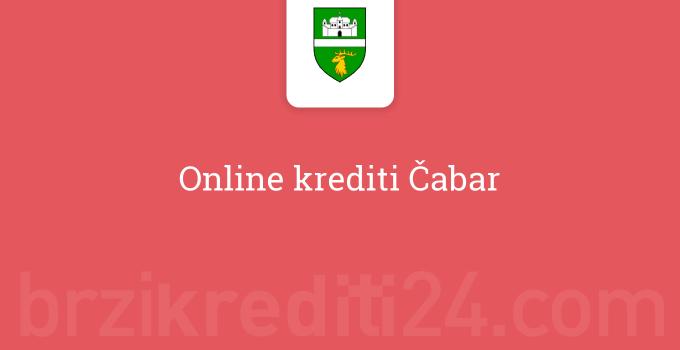 Online krediti Čabar