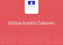 Online krediti Čakovec