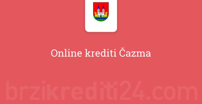 Online krediti Čazma