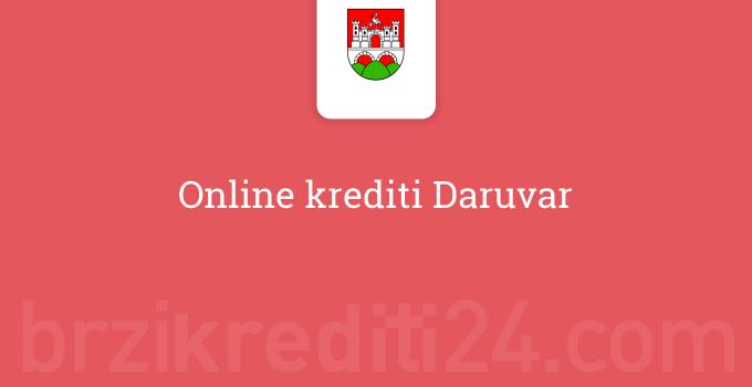 Online krediti Daruvar