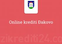 Online krediti Đakovo