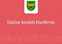 Online krediti Đurđevac
