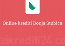 Online krediti Donja Stubica
