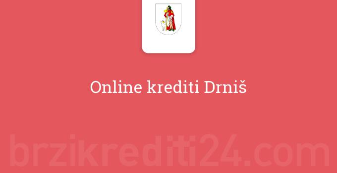 Online krediti Drniš