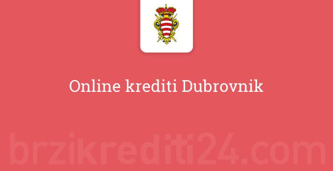 Online krediti Dubrovnik
