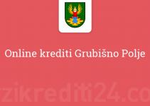 Online krediti Grubišno Polje