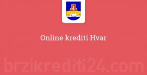 Online krediti Hvar