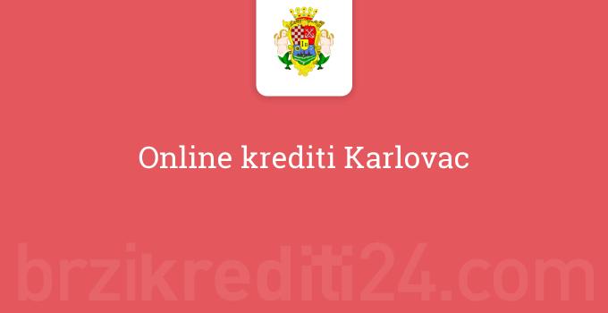 Online krediti Karlovac