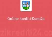 Online krediti Komiža