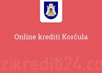 Online krediti Korčula