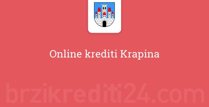 Online krediti Krapina