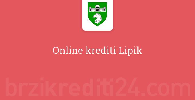 Online krediti Lipik