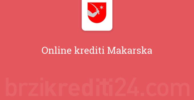 Online krediti Makarska