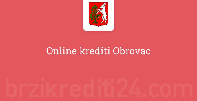 Online krediti Obrovac