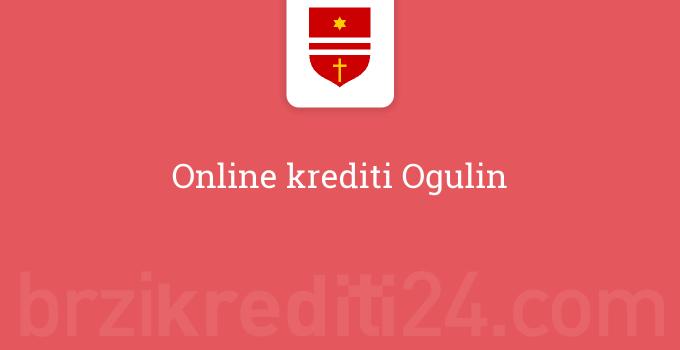 Online krediti Ogulin