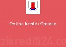 Online krediti Opuzen