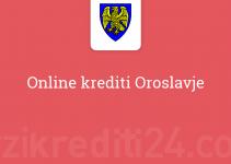 Online krediti Oroslavje
