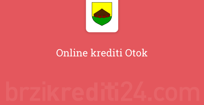 Online krediti Otok