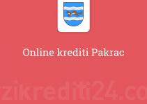 Online krediti Pakrac