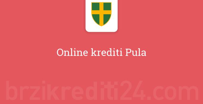 Online krediti Pula