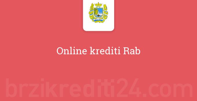 Online krediti Rab