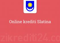 Online krediti Slatina