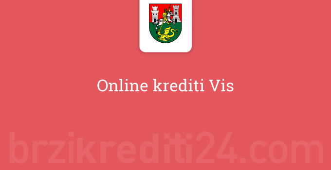 Online krediti Vis