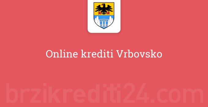 Online krediti Vrbovsko