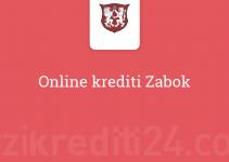 Online krediti Zabok