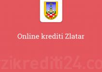 Online krediti Zlatar