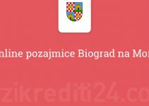 Online pozajmice Biograd na Moru