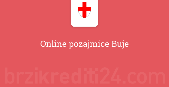 Online pozajmice Buje