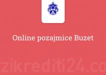 Online pozajmice Buzet