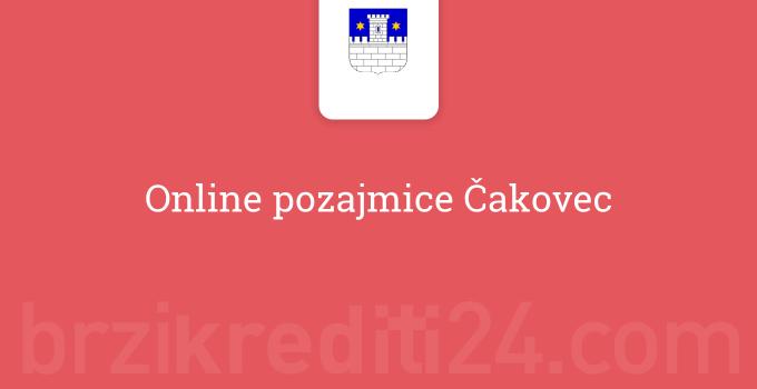 Online pozajmice Čakovec