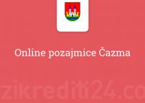 Online pozajmice Čazma