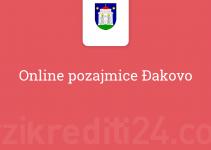 Online pozajmice Đakovo