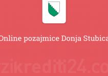 Online pozajmice Donja Stubica