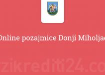 Online pozajmice Donji Miholjac