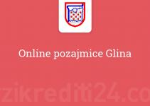 Online pozajmice Glina