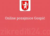 Online pozajmice Gospić