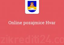 Online pozajmice Hvar