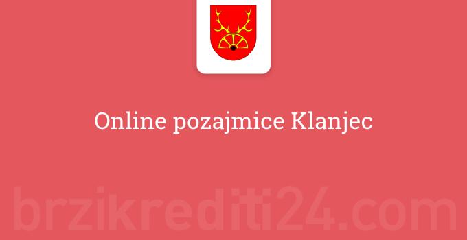 Online pozajmice Klanjec