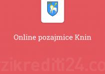 Online pozajmice Knin