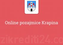Online pozajmice Krapina