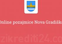 Online pozajmice Nova Gradiška
