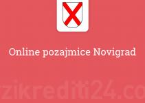 Online pozajmice Novigrad